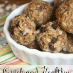 Quick and Healthy Snack Bites