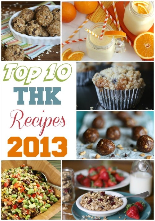 Top 10 THK Recipes of 2013 {www.TwoHealthyKitchens.com}