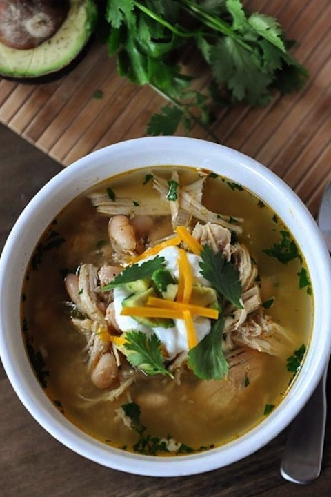 Mel's Kitchen {Two Healthy Kitchens Top 10 Crock-Pot Chicken Soups and Chili Recipes}