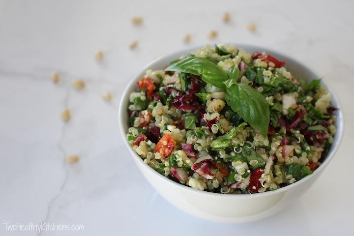 healthy, beautiful and wildly delicious quinoa salad! Quinoa and ...