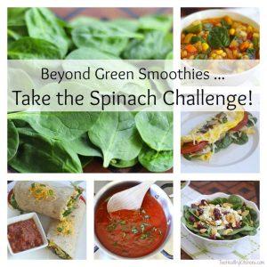THK Spinach Challenge Text
