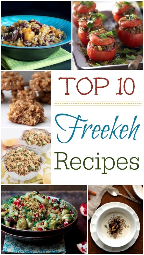 Top 10 Freekeh Recipes {www.TwoHealthyKitchens.com}