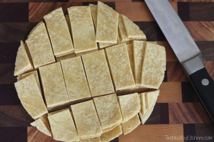 Crock-Pot Chicken Tortilla Soup Recipe {www.TwoHealthyKitchens.com}