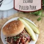 Slow Cooker Island Pulled Pork {Slow Cooker Giveaway!}