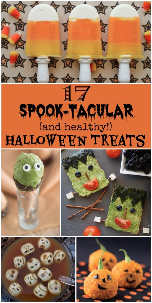 17 Spook-tacular (and healthy!) Halloween Treats {www.TwoHealthyKitchens.com}