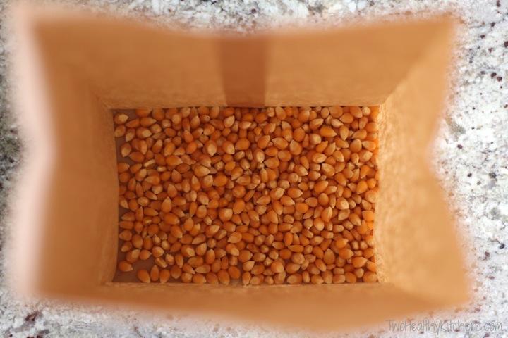 Perfect Microwave Popcorn Recipe {www.TwoHealthyKitchens.com}