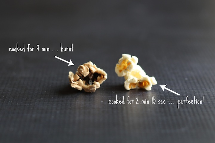 Perfect Microwave Popcorn Recipe {www.TwoHealthyKitchens.com}