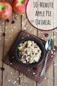 THK Apple Pie Oatmeal Text