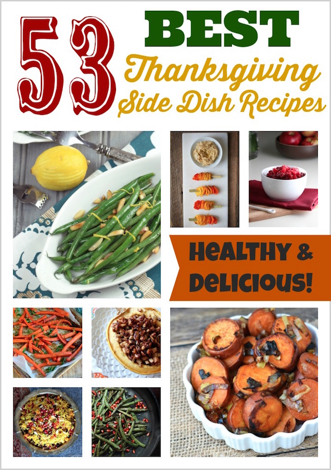53 Best Thanksgiving Side Dish Recipes {www.TwoHealthyKitchens.com}