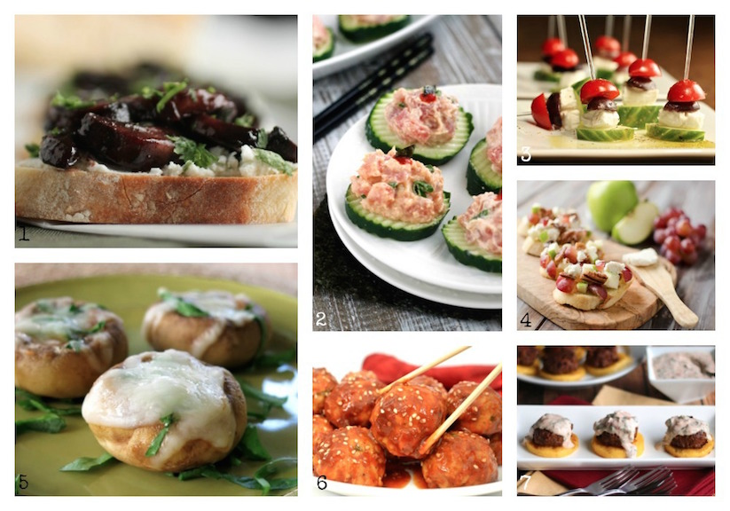 35 easy party food appetizers 35 easy party food appetizer recipes twohealthykitchens forumfinder Images