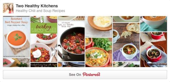 THK Soups Pinterest board
