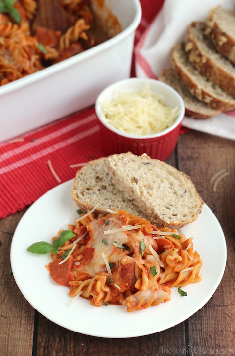 THK Pizza Pasta Bake - Comforting Reicpes
