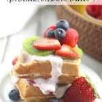 """Waffle Sundae Bar (for Brunch, Dessert or """"Brinner""""!)"""