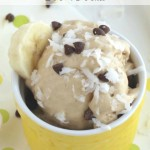 """""""Instant"""" Peanut Butter-Banana Ice Cream (Just 5 Minutes and 5 Ingredients!)"""