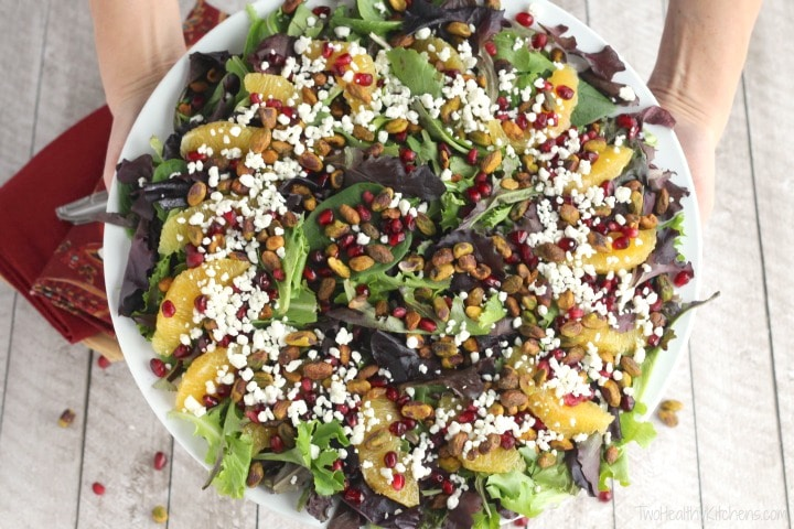 Best recipes for christmas salads with pomegranate