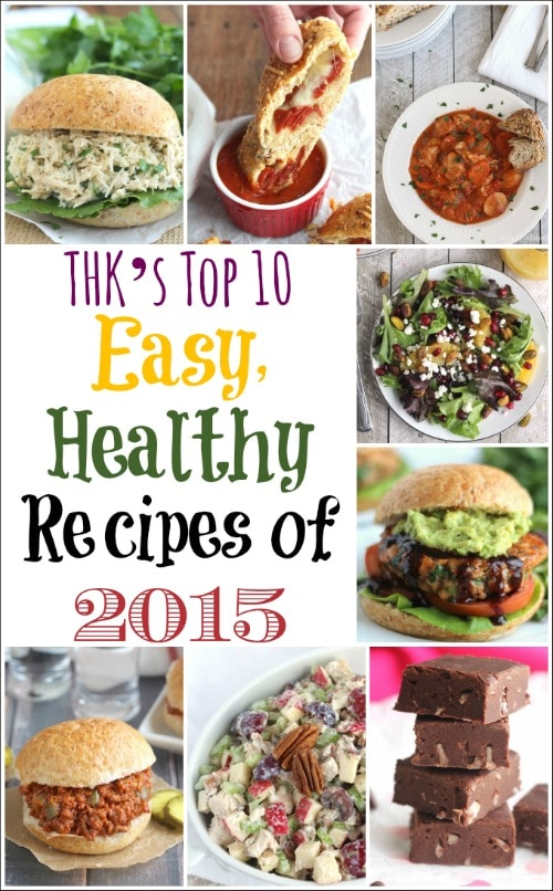 THK's Top 10 Easy, Healthy Recipes of 2015 {www.TwoHealthyKitchens.com}