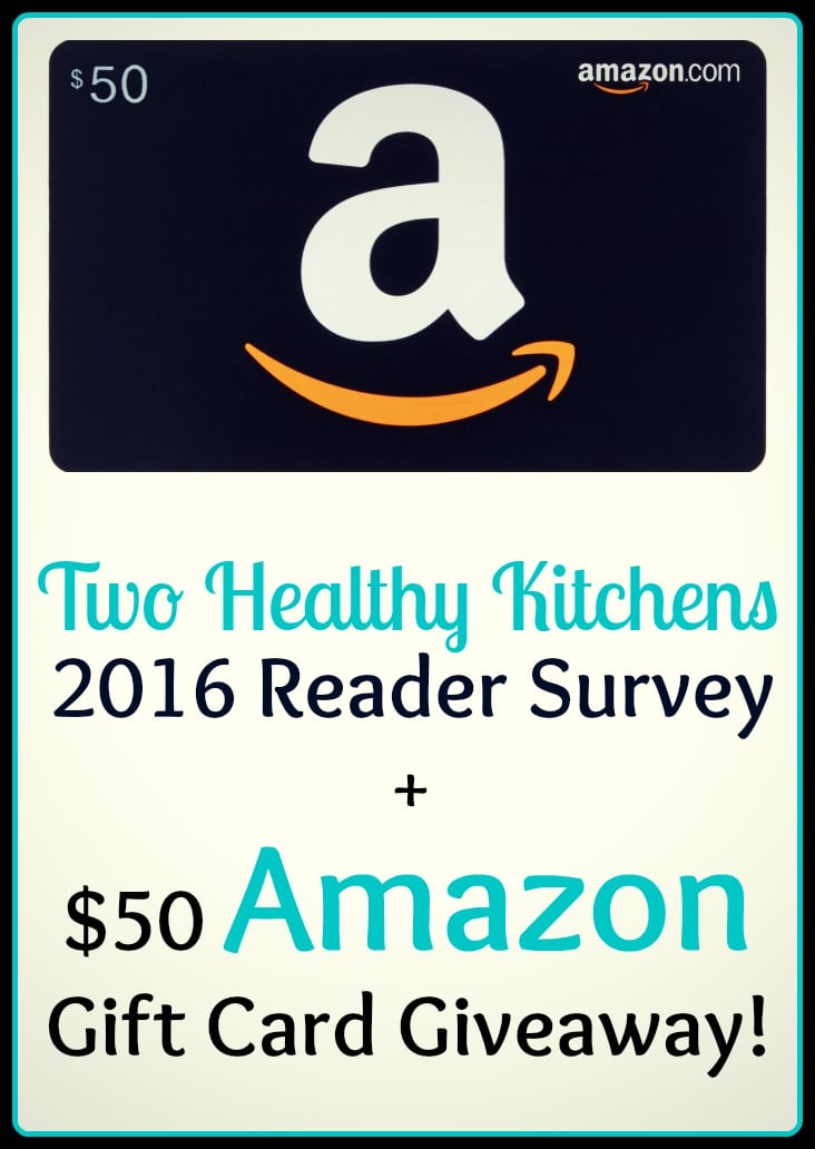 Two Healthy Kitchens - Amazon $50 Giveaway