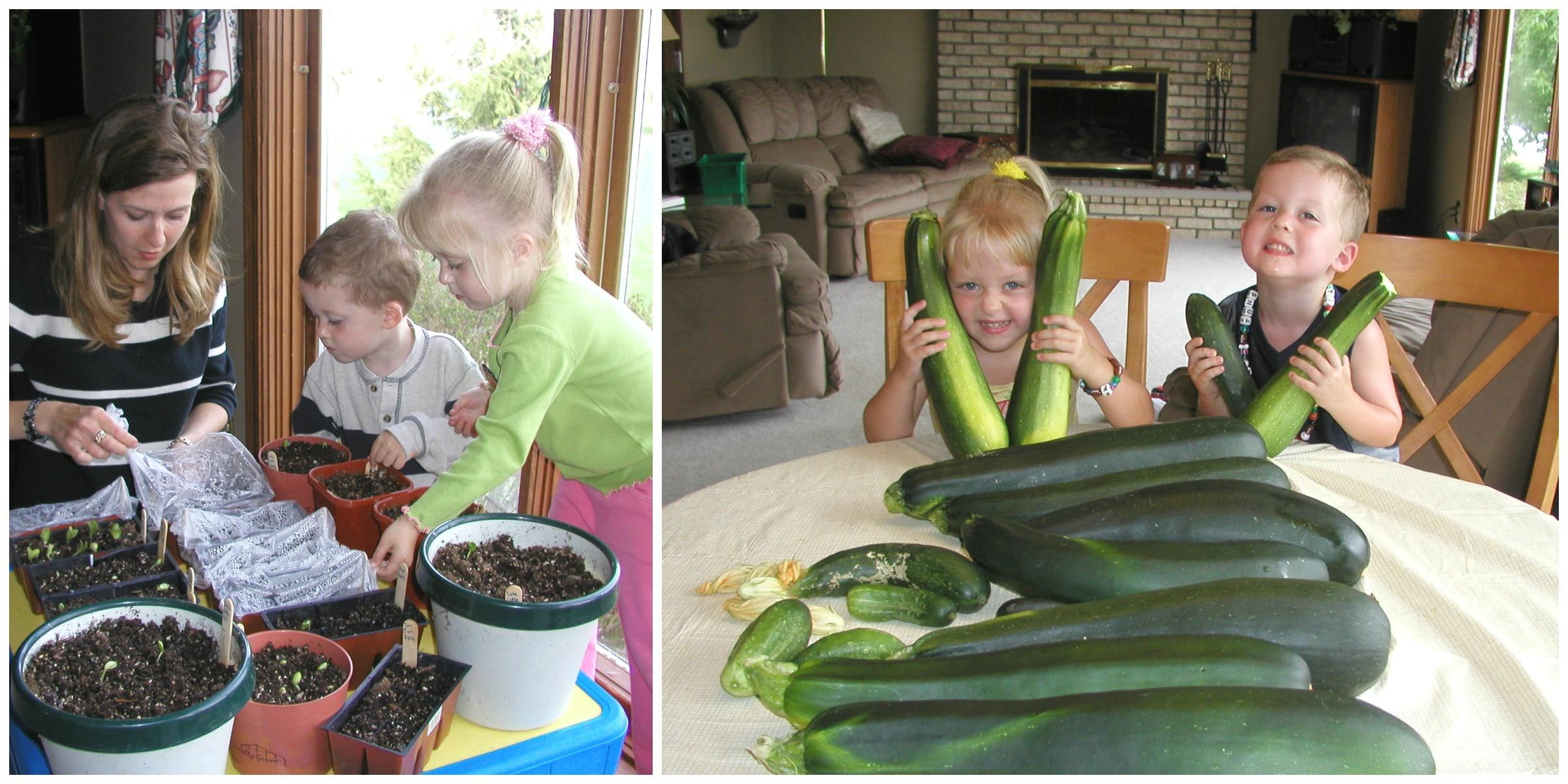 Gardening kiddos