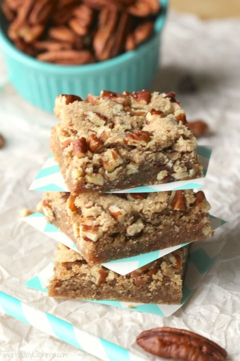 Kentucky derby chocolate pecan cookie bars kentucky derby chocolate pecan cookie bars recipe twohealthykitchens forumfinder Image collections