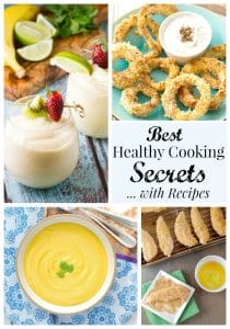 Best Healthy Cooking Tips Collage