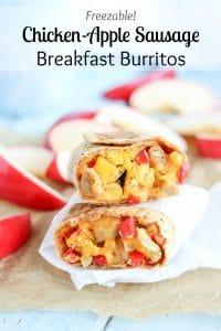 Breakfast Burrito - Stacked vert Pinnable