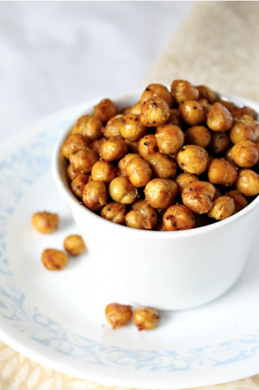 Don't miss these #1 most popular, healthy snack ideas from top bloggers! These quick, easy, healthy snacks are so super-popular for a reason!   www.TwoHealthyKitchens.com